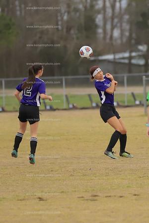 West Bladen 2020 South Columbus girls soccer