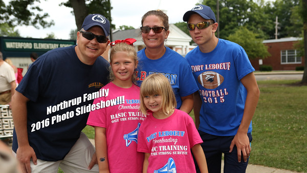 Northrup Family 2016 Slideshow!!!