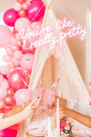 VS Pink Pajama Party • The Perfect Picnic