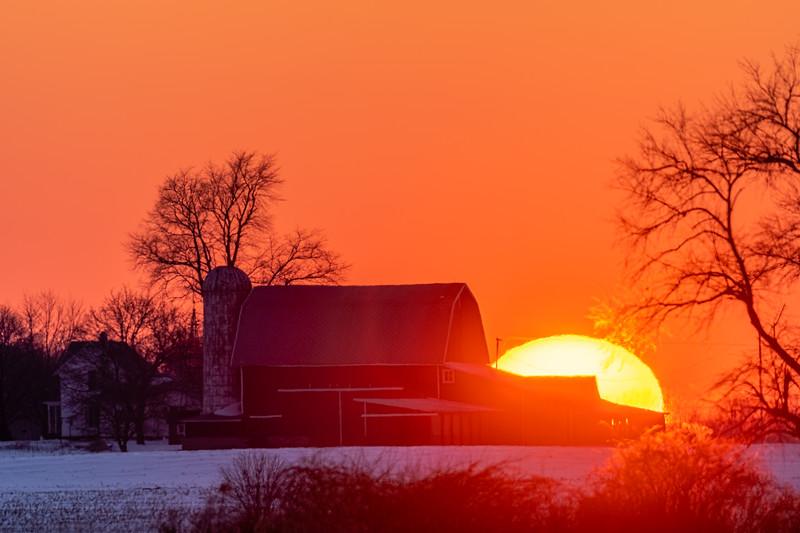 sunset over the Webber's barn 2-16-20-17.jpg