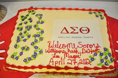 Delta Sigma Theta Spring April 27, 2012