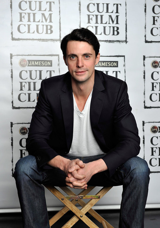 . British actor Matthew Goode poses for portraits on the day he is announced as the Jameson Cult Film Club Ambassador on February 11, 2012 in London. The club\'s initial 2012 line up of free cult film events is revealed, visit ww.jamesoncultfilmclub.com for more information.  (Photo by Gareth Cattermole/Getty Images for Jameson)