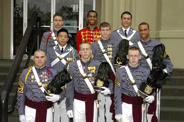 Distinguished Cadets - Alumni Weekend