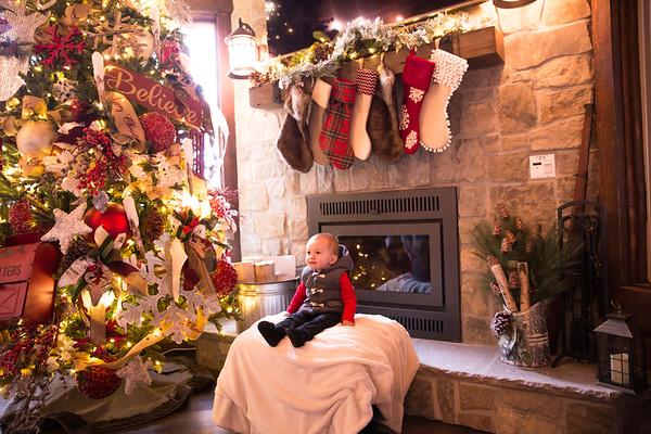 Merrill family pics Christmas 2017
