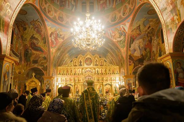 Vigil at St. Alexander Nevsky