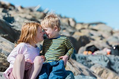 Anna and kids