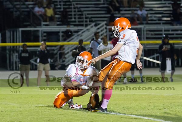 Boone JV Football #3 - 2012
