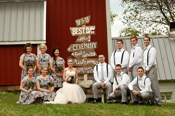 Red Barn Farm - A Country Wedding