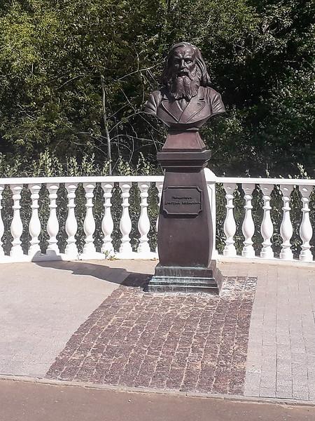 Bust of Mendeleev