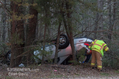 04-26-2014, MVC with Entrapment, Maurice River Twp. Cumberland County, Weatherby Rd.