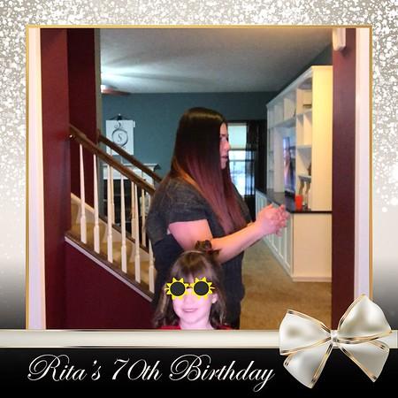 Rita's 70th Birthday