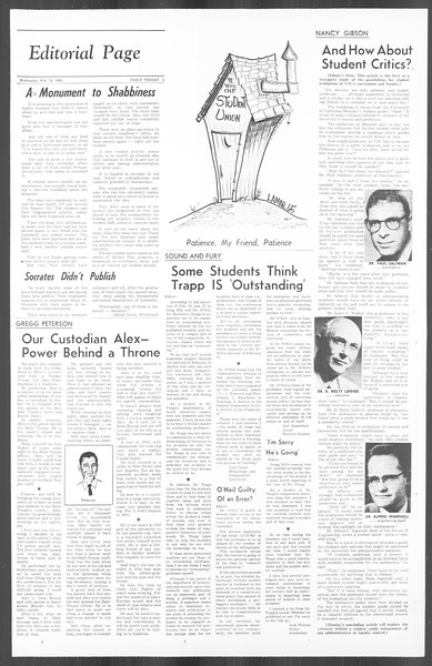 Daily Trojan, Vol. 56, No. 70, February 24, 1965