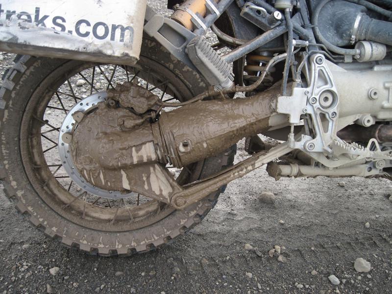 Tierra Del Fuego mud and The Beast