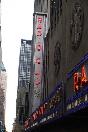 The Rockettes - Radio City Music Hall - NY, NY. Dec 4, 2009