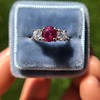 1.71ctw Ruby and Diamond Trilogy Ring 16