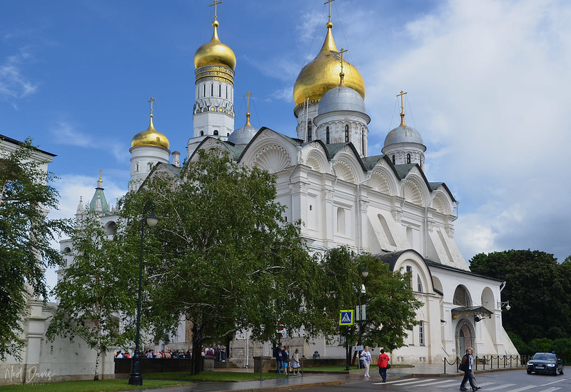 The Cathedral of the Archangel, Cathedral Square, Kremlin
