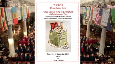 Airthrie Carol Service 'Once Upon A Time in Bethlehem - A Christmouse Tale