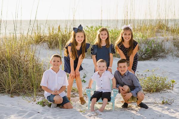 Treasure Island Beach Sunset Photos Family