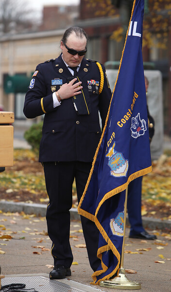 Lowell Veterans Day ceremony 111120