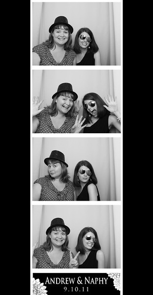 Andrew & Naphy's Wedding Photobooth Photos 9.10.11
