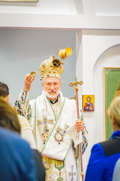 Hierarchical Liturgy with His Grace, Bishop Irinej