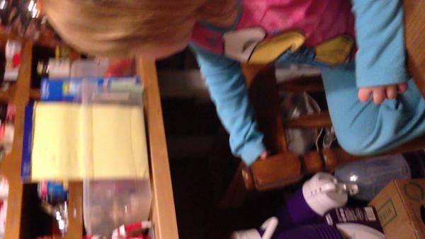 Gracie's Santa video
