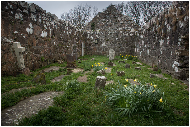 Kildonan church ruins
