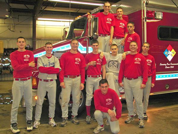Prep Baseball visits Earlysville Fire Station