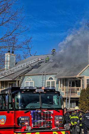 Multi Alarm Condo Fire - 75 Redwood Dr, East Haven, CT - 01/24/21