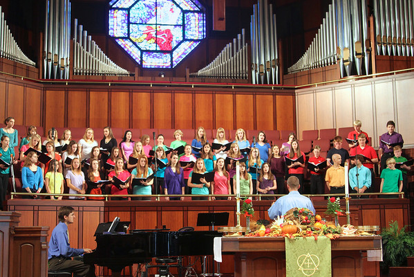 Choir and Voice of Truth - Traditional Service November 4, 2012