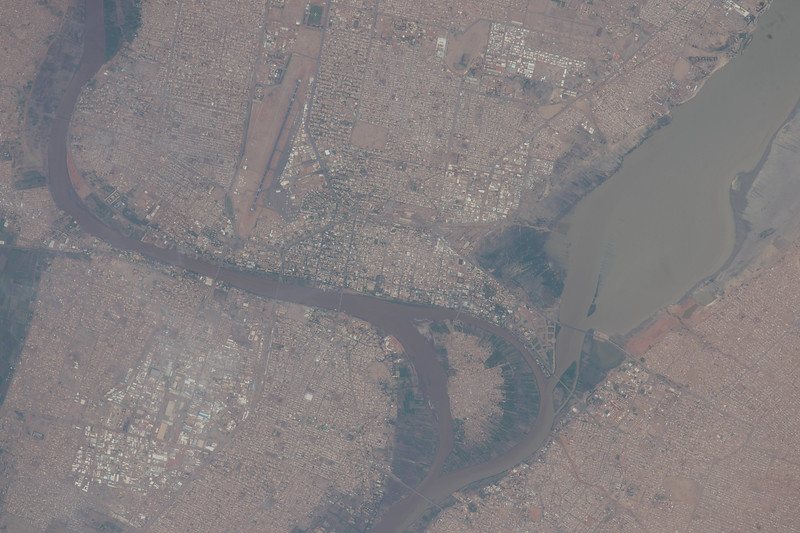 #Khartoum, #sudan, #GoodMorning from @Space_Station! #YearInSpace