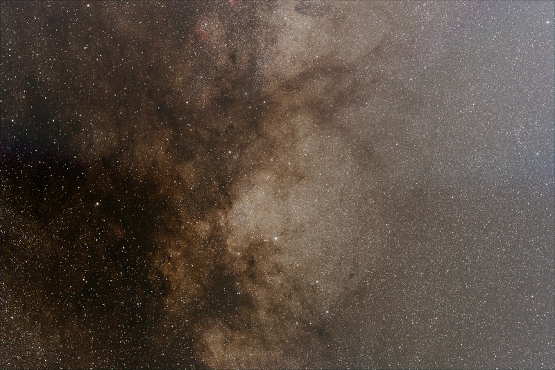 Milky Way around Scutum - 21/07/2020 (Processed Stack)