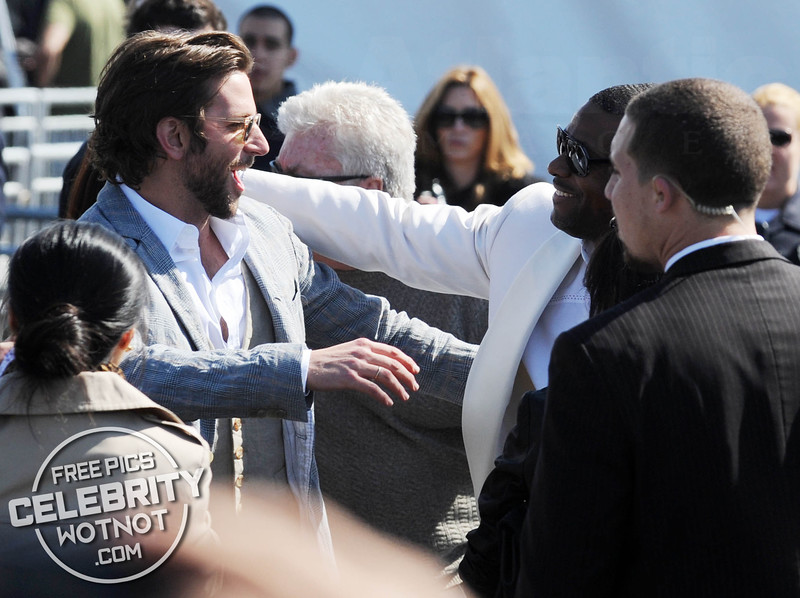 Chris Tucker Makes Quite An Entrance At Event And Bumps Into Bradley Cooper!