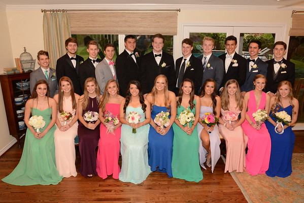 2016: LHHS Pre-Prom Group and Couples Photos