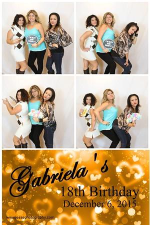 Gabriela's 18th Birthday