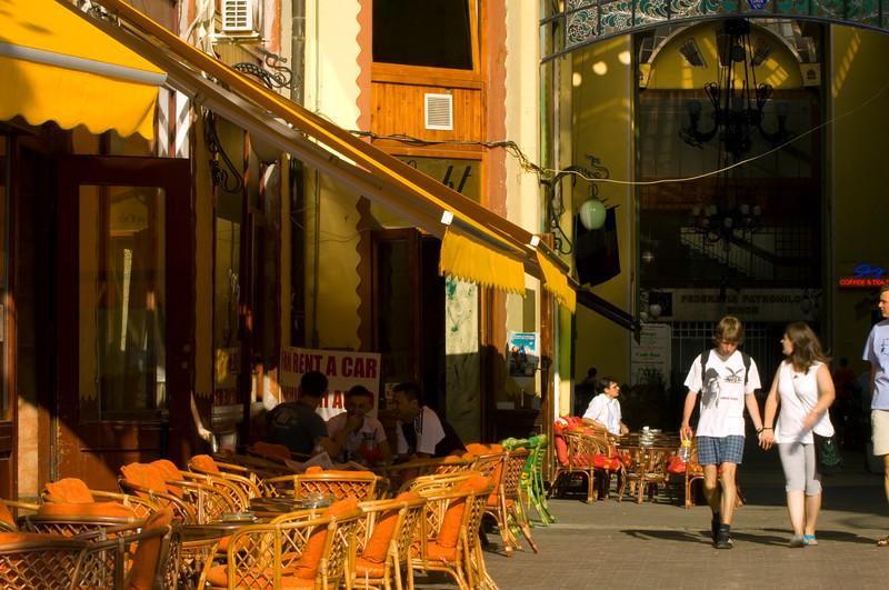 Cafe-bar by Vulturul Negru, Oradea, The Banat, Romania