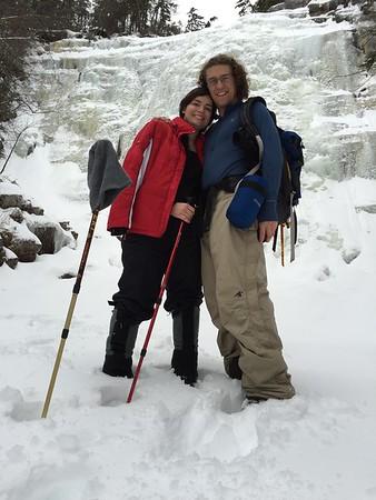 1/4/15 Arethusa Falls and Frankenstein Cliffs trail