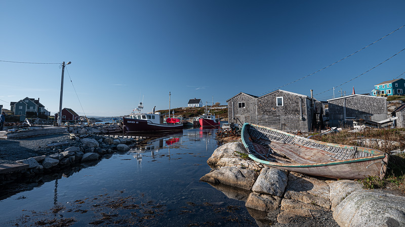 Peggy's Cove with skiff & ad Boy 111.jpg