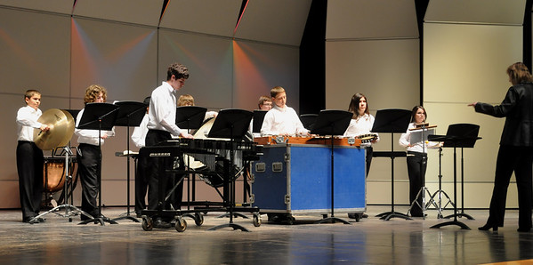 Percussion concert Mar. 10, 2011