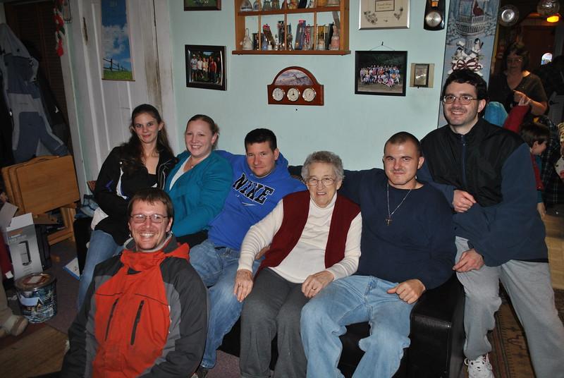 Craig Bruso, Michelle Fenoff, Janelle Bertrand, Dean & Norma Brockway, Chad & Kenny Fenoff (Dec. 24, 2014) (2).JPG