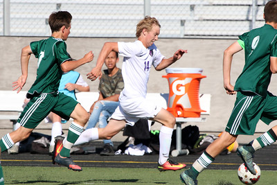 Rocky Mtn. vs. Eagle JV Boys Soccer 08/24/2016
