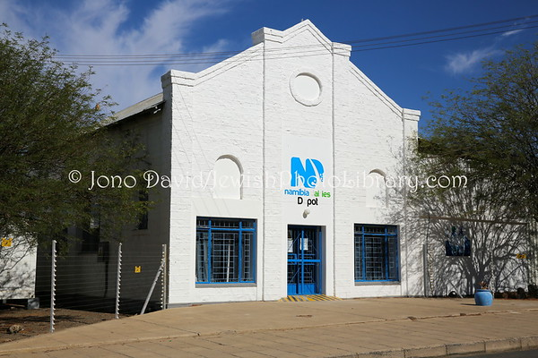 NAMIBIA, Keetmanshoop. Keetmanshoop Synagogue (former; for many years a milk dairy) (2.2013)