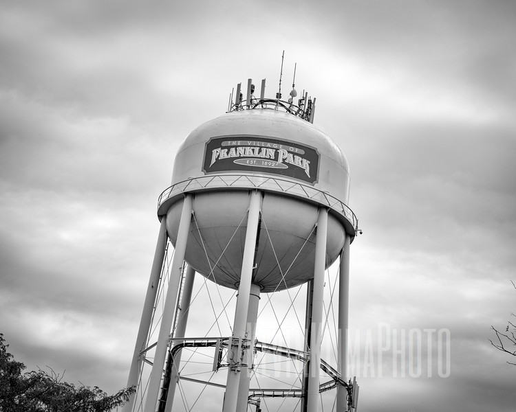 The Village of Franklin Park Water Tower