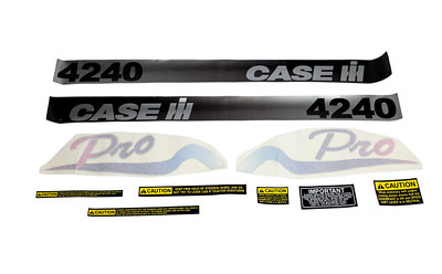 CASE IH 4240 PRO SERIES BONNET DECAL SET