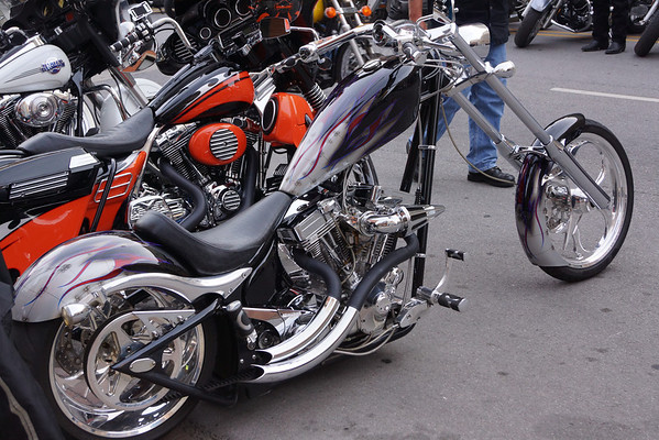 Motorcycles on Meridian - 2012