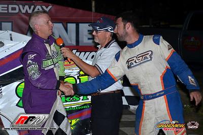 Grandview Speedway - 7/14/18 - Steve Sabo (SDS)