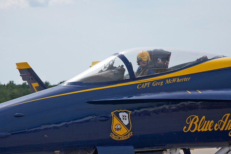 Boston / Portsmouth Airshow, Blue Angel #1