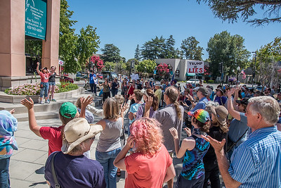 20170813: Charlottesville Solidarity Rally, Mountain View