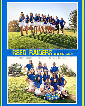 REED GIRLS GOLF