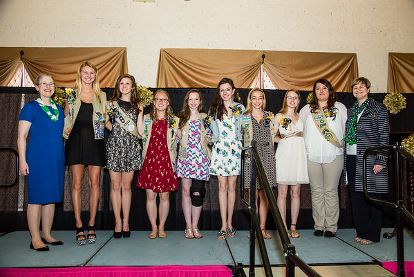 Johnson City Girl Scouts Gold, Silver, and Bronze Awards  April 26th, 2015